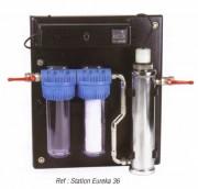 Mini station de potabilisation de l'eau de pluie - Alimentation : 220/230 V