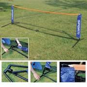 Mini tennis pliable - Longueur :  3,10 m - Hauteur : 0,75 m