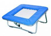 Mini trampoline à ressorts - Toile Nylon renforcée de 60 x 60 cm