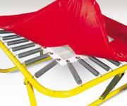 Mini trampoline ressorts - Cadre tubulaire : 113 x 113 cm