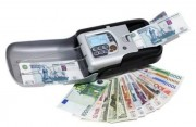 Mini trieuse detecteur de faux billets - Capacité du bac de départ : 100/120 billets