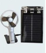 Mini ventilateur USB - Alimenté par un panneau solaire