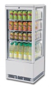 Mini vitrine à boissons - Capacité (L) : 95 ou 125 cannettes de 33 cl