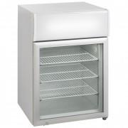 Mini-vitrine réfrigérée de comptoir 230 W - Laqué blanc - 50 ou 113 L - 570 x 530 x 637 / 610 x 555 x 890 (mm)