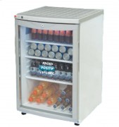 Mini-vitrine réfrigérée de comptoir - Dimensions (L x l x H) : 505 x 590 x 780 mm