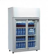Mini vitrine réfrigérée de comptoir - 82L - 160 W - +1° +10°C