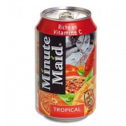 MINUTE MAID Canette 33cl jus saveur tropical - Europa