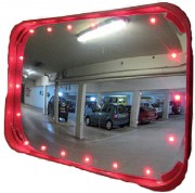 Miroir à LED spécial parking - Dimensions (L x l) : 600 x 400 mm
