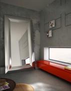 Miroir chauffant en aluminium - Dimensions (mm) : 1000 x 2000