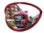 Miroir de circulation 180° - Utilisation : Extérieure et intérieure - Garantie : 2 ans