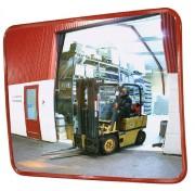 Miroir de sécurité en acrylique - Distance d'observation (m) : de 5 - 7 à 15 - 22 / Certifié TÜV
