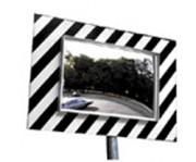 Miroir de securite exterieur - Miroir rectangulaire de circulation