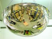 Miroir de sécurité industrielle - Facilite la circulation des engins de manutention