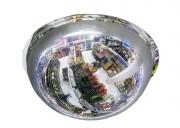 Miroir de sécurité industrielle coupole 360° - Utilisation : intérieure - Fixation : suspendu ou direct au plafond - Garantie : 2 ans