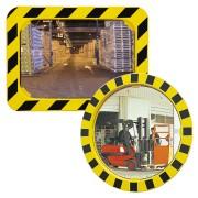 Miroir de sécurité industrielle incassable - Garantie 3 ans