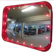 Miroir de sécurité lumineux