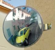 Miroir de sécurité parking