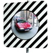 Miroir de sécurité routière - Utilisation : Intérieure et extérieure - Fixation morale ou poteau - Garantie : 5 ans