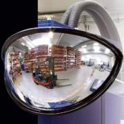Miroir de sortie parking grand angle
