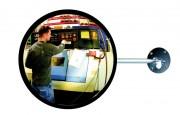 Miroir de surveillance acrylique - Utilisation : Extérieure ou intérieure - Garantie : 2 ans
