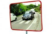 Miroir de surveillance extérieur - Distance d'observation (m) : de 5 à 22 / Certifié TÜV