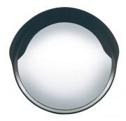 Miroir de surveillance extérieur convexe - Fixé sur un poteau, ou installation murale - 45 cm