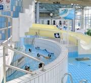 Miroir de surveillance intérieur pour piscine - Dimensions miroir : L 1000 x l 800 mm