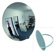 Miroir de surveillance monté sur arceau métallique