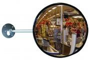 Miroir de surveillance murale - Distance d'observation (m) : de 1 - 4 à 15 - 22 / Certifié TÜV