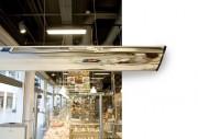 Miroir de surveillance rectangulaire - Utilisation : intérieure - Distance d'observation : 1 - 3 m