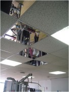 Miroir décoratif de plafond