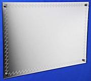 Miroir gravé laser - Dimensions disponibles (L x l) : 60 x 40 cm ou 40 x 60 cm
