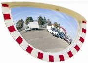 Miroir industrie 3 directions - Distance de visibilité (m) : 8 à 10