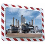 Miroir industrie antigivre antibuée - Distance de visibilité (m) : 11 à  30