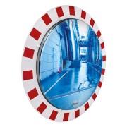 Miroir industriel qualité Inox - Distance de visibilité : 9 à 30 mètres
