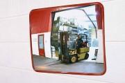 Miroir panoramique industriel - Miroir de surveillance 360° - Fabriqué en plexiglas