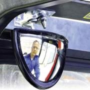 Miroir rétroviseur industriel - Distance de surveillance : 1 à 2 m