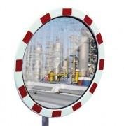 Miroir routier antibuée - Distance d'observation (m) : de 9 - 15 à 22 - 27 / Certifié TÜV