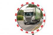 Miroir routier Inoxydable - Utilisation extérieure et intérieure - Fixation morale ou poteau - Garantie 2 ans