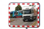 Miroir routier Multi-usage - Utilisation : Extérieure et intérieure - Fixation : Murale ou sur poteau - Garantie : 2 ans