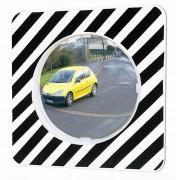 Miroir routier réglementaire - Distance de visibilité : de 8 à 15 m