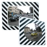 Miroir routier réglementaire en inox - Garantie : 7 ans