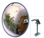 Miroirs de surveillance en PVC gris - Dimensions (LxlxH) mm : 331 x 313 x 58