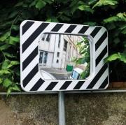 Miroirs routiers à fixation universelle - Dimension optique (mm) : 600 x 400