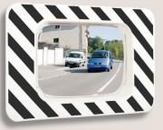 Miroirs routiers incassable - Optique (mm) : 600 x 400 - 800 x 600 - diamètre 600