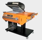 Mise sous film rétractable semi automatique - Dimensions utiles barres de soudure (mm) :   540 x 390
