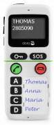 Mobile GSM d'urgence PTI - Appel automatique en cas de perte de verticalité-horizontalité-immobilité