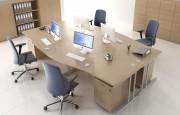 Mobiler de bureaux - Bureaux gamme secretariat