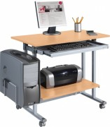 Mobilier bureau informatique - Dimensions (L x P x H): 90 x 50 x 81 cm