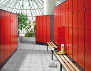 Mobilier meuble vestiaire - Dimensions (mm) 1850 x 900 x 500 - 2090 x 1190 x 500 - 1850 x 1190 x 500